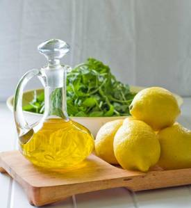 lemons and olive oil Happy Gourmand