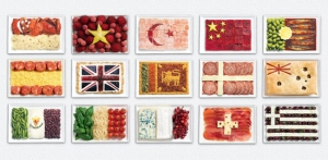 food flags from fancy edibles dot com